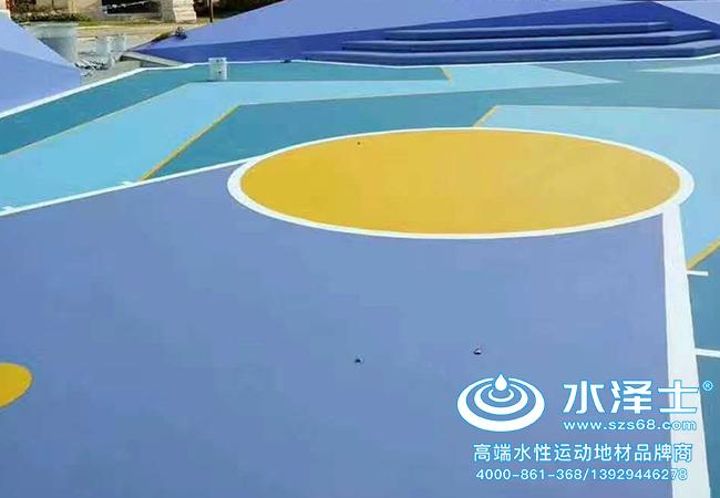 水泽士丙烯酸球场材料