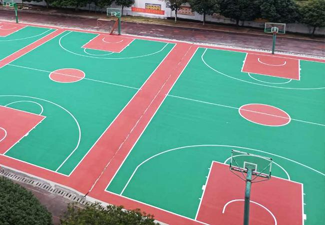 重庆学校丙烯酸球场