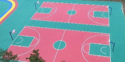 浙江学校丙烯酸球场