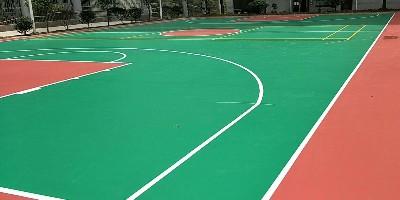 吉林学校丙烯酸球场