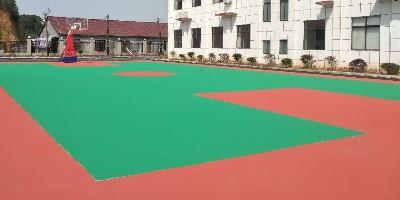 黑龙江学校丙烯酸球场