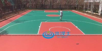 塑胶硅PU球场材料