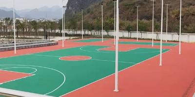 海南学校丙烯酸球场