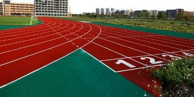 体育馆混合型塑胶跑道