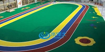 做彩色EPDM塑胶跑道场地有什么优势?【水泽士体育】